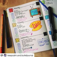What's not to love about this Gilmore Girl themed spread with ・・・