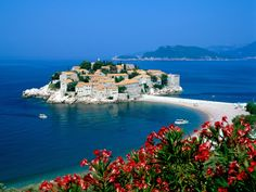 Gorgeous Picture of an Old Fishing Village Converted into a Luxury Resort - Montenegro