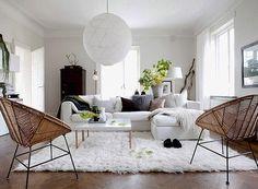 iluminacao-tipos-luminaria-sofa-sala-de-estar-poltrona (Foto: Reprodução/Pinterest)