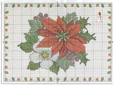 Poinsettia tray liner pattern page 1 of 3