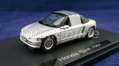 EBBRO 2007 | HONDA BEAT 1991 | 1/43 | SILVER | CHANGEABLE ROOF