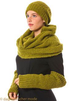 Loop Trio by annette görtz - dagmarfischermode.d3  #scarf #loop #autumn #winter #green  #annettegoertz #goertz #fashion #style #stylish #german #designer #shopping