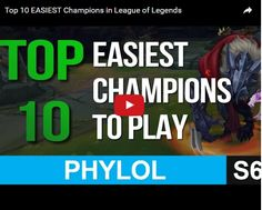 League of legends is the world most popular battle arena online game.  Someone doesn't know about the game and start, join an online league of legends seminar here will guide you and what position you want to play and get golden champion.