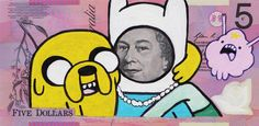 pop culture queen graffiti - Arnold Schwarzschenegger was a formidable Terminator, but the Governor of California couldn't hold a candle to Terminator Queen Elizabeth II&. Elisabeth Ii, Pop Culture, Art Projects, Graffiti, Mystery, Doodles, Hilarious, Drawings, Fictional Characters