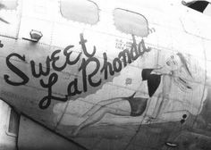 "B-17 Flying Fortress ""Sweet LaRhonda"" nose art"