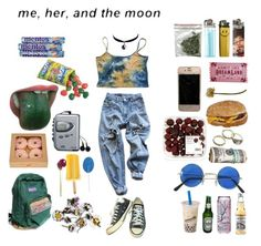 """""""festival"""" by rad-honey on Polyvore featuring Chicnova Fashion, Converse, Levi's and Sony"""