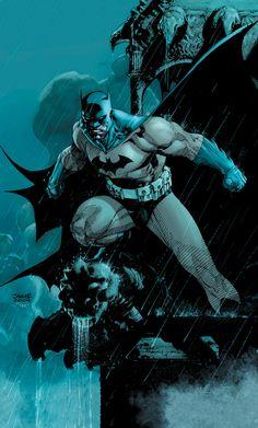 Jim Lee cover art for Batman Hush Jim Lee Batman, Batman Hush, Batman Robin, Batman Et Superman, Batman Comic Art, Batman Artwork, Batman Cowl, Batman Poster, Superman Movies
