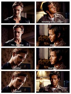 I could be wrong but in some places, this qualifies as flirting! ♊️ •Eric Northman and Jason Stackhouse ~ True Blood•