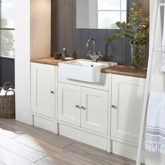 Burford Chalk White Fitted Furniture   Roper Rhodes