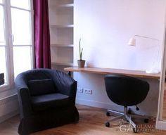 Cheap furnished studio for rent at Passage de la Vierge