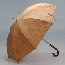 cortiça - cork umbrella, made by Pelcor / made in Portugal - expanding now for the USA