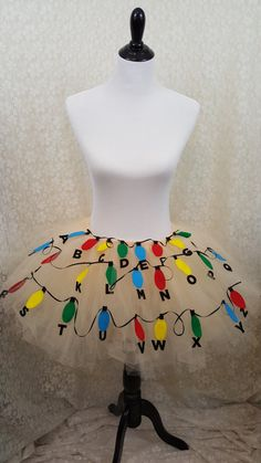 Are you in love with the show Stranger Things? This tutu is inspired by the show and is perfect for any Con you might be attending. Stranger Things Theme, Stranger Things Netflix, Stranger Things Costumes, Stranger Things Halloween Costume, Cute Halloween Costumes, Couple Halloween, Disfraces Stranger Things, Tutu, Fashion Show Party