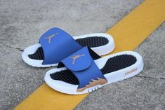 fe57ca624 Fashion Air Jordan Hydro 5 Retro Slide Obsidian Bronze White Black 555501-408  Jordan Shoes