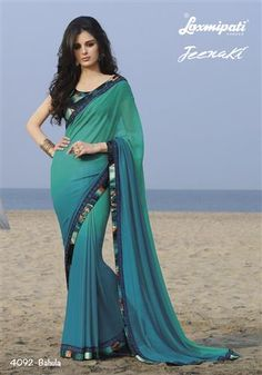 #‎Laxmipati‬ brings a beautiful ‪#‎GeorgetteSaree‬ with great collection just for you. Shop Now @ http://goo.gl/6VzPp5