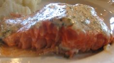 Barbecued Salmon with Herb Mayonnaise...Barbecued Salmon with Herb Mayonnaise  Five-Course Dinner - Menu and Recipes