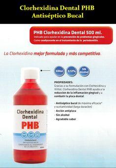 Clorhexidina Dental PHB - Antiséptico Bucal | OdontoFarma