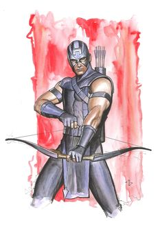 Hawkeye by Adi Granov *
