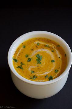 moroccan carrot soup moroccan carrot soup this gal cooks # dairyfree ...