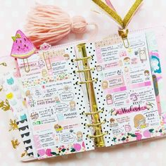 397  , 19   Camelia (@cammycrafts)  Instagram: Hello lovely planner friends Here's my completed weekly spread in my personal planner! Really