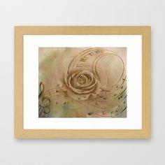 Timeless Love Abstract Framed Art Print