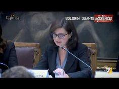 """Boldrini impazzita. """" La Precarietà sara il Nostro Futuro stile di Vita"""" - YouTube"""