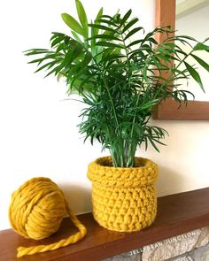8 quick n' easy modern crochet gift ideas for last minute presents - Dora Does Love giving hand made gifts but short on time? This post gives you 8 ideas for making last minute contemporary crochet gifts the giftee will treasure. Small Crochet Gifts, Crochet Teacher Gifts, Modern Crochet, Crochet Home, Quick Crochet, Chunky Crochet, Crochet Planter Cover, Potted Plants, Crafts To Sell