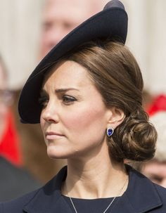 See Kate Middleton's Gorgeous Updo From Every Angle