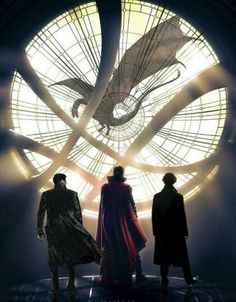Dr. Strange, Han, Sherlock, Smaug ~  Marvel, Star Trek, Sherlock, Hobbit (Lord of the rings)