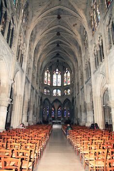 Church of Saint-Séverin in Paris (13th century) Copyright: Alain Corriveau