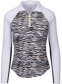 7cff4916fddd54 Check out Lori s Golf Shoppe  White Greg Norman Ladies  amp  Plus Size  Solar XP