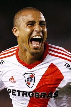 David Trezeguet in the Club Atlético River Plate - Argentina Football Soccer, Football Players, David Trezeguet, Juventus Stadium, Football Photos, Professional Football, Adidas, Best Player, Hercules