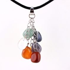 Material : Assorted Weight : 10 g Quantity: The picture is only for your reference, you will get similar crystal because of natural stone. Agate Necklace, Stone Necklace, Pendant Necklace, Leather Chain, Leather Pouch, Reiki, Chakra, Cross Pendant, Crystal Healing