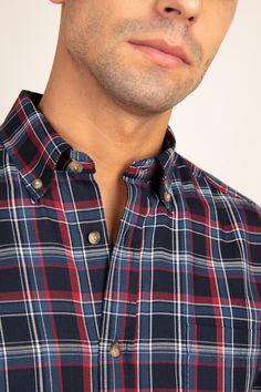 Weaving, Button Down Shirt, Men Casual, Polo, Chic, Mens Tops, Shirts, Fashion, Deep Blue
