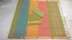 We are weaving Hand Loom Cotton/Silk Sarees. Handloom Saree, Silk Sarees, Cotton Silk, Cotton Dresses, Outdoor Blanket, Weaving, Stitch, Full Stop, Stitches