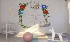 Moomin photo wall