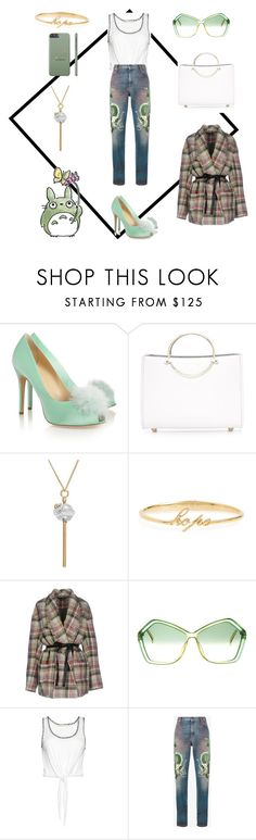 """""""Sin título #1182"""" by na-ty-1 ❤ liked on Polyvore featuring Charlotte Olympia, Future Glory Co., Simone I. Smith, Judith Jack, Isabel Marant, Christian Dior, Alice + Olivia and Gucci"""