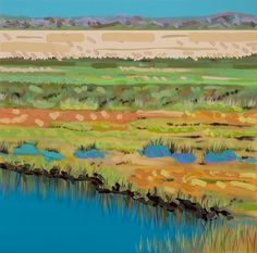 True Silence is a painting created by Sheila Kernan in Find out more at Mayberry Fine Art. Canadian Art, Mark Making, Wilderness, Painting & Drawing, Pond, Sky, Fine Art, Landscape, Drawings