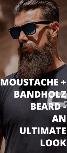 Find out which 11 moustaches are best suitable for your long beard styles with our Bandholz Beard moustache guide. Long Beard Styles, Beard Styles For Men, Beard Designs, Short Beard, Long Beards, Awesome Beards, Beard Care, Beard Growth, Hair Growth