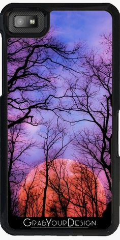 Case for Blackberry Z10 - Moonrise canyon - by PINO