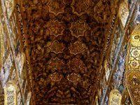 Chapelle palatine: plafond de bois...