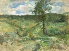 """John Henry Twachtman, """"Branchville"""" (circa 1888-1889)"""