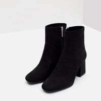 Image 3 of HIGH HEEL POINTED ANKLE BOOTS from Zara