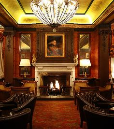 Fine Art Lamps Winter Palace Pendant - The Goring Hotel Lounge
