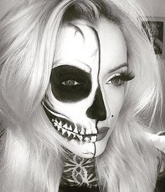 TENDANCE : le SKELETON MAKE-UP - Confidentielles
