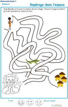 Mazes For Kids, Activities For Kids, Maternelle Grande Section, Coloring Pages, Education, Maths, Worksheets, Stage, Labyrinths