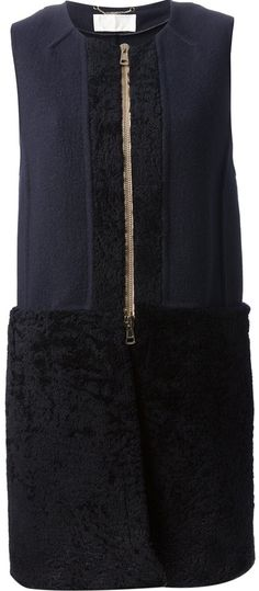 Chloé sleeveless coat on shopstyle.com
