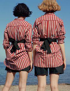 Old Friends: Heather Kemesky, Lou Schoof by Zoe Ghertner for Vogue UK January 2016