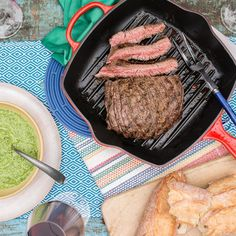 Beef Flank with Brazil Nuts and Spinach Pesto - Le Creuset Recipes