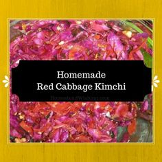 Homemade Kimchi Recipe. A spicy fermented dish. It has probiotic properties and is absolutely delicious! #spicy