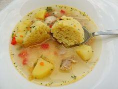 Supă de Găluști cu Pui ⋆ Dalida Cuisine